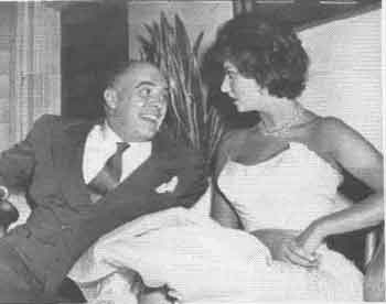 Carlo Ponti and Sofia Loren
