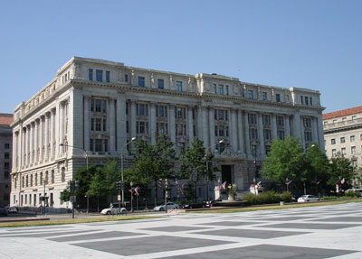 John A. Wilson Bldg in WAshington, DC