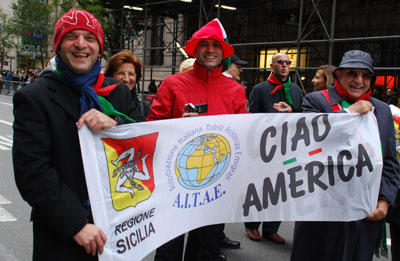Ciao America Columbus Day Parade